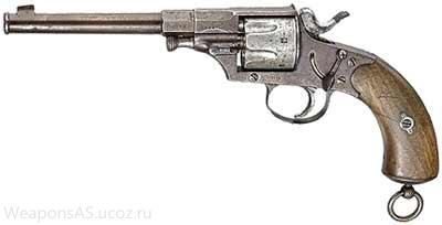 Револьвер Reichsrevolver М 1879